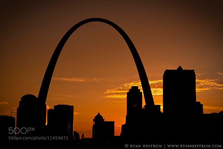 Photograph St Louis Sunset by Ryan Heffron on 500px