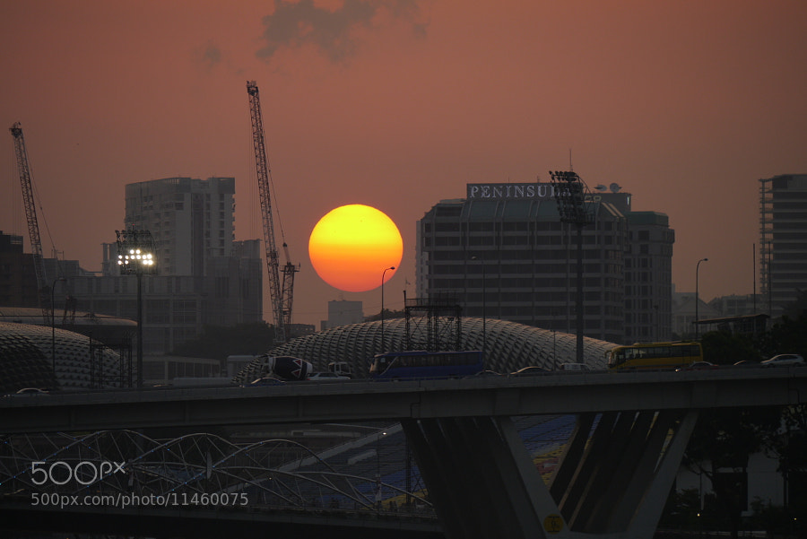 Photograph the sun goes down by kitaro9202 on 500px