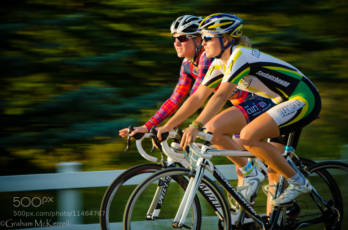 Photograph Two by Bike by Graham McKerrell on 500px