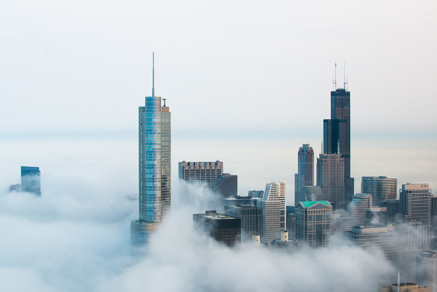 Photograph Cloud Chicago - Sky City by Peter Tsai on 500px