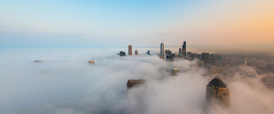 Photograph Cloud Chicago - Cloud Sunset by Peter Tsai on 500px