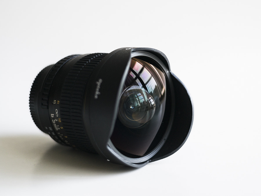 Opteka 6.5mm Fisheye Lens Review