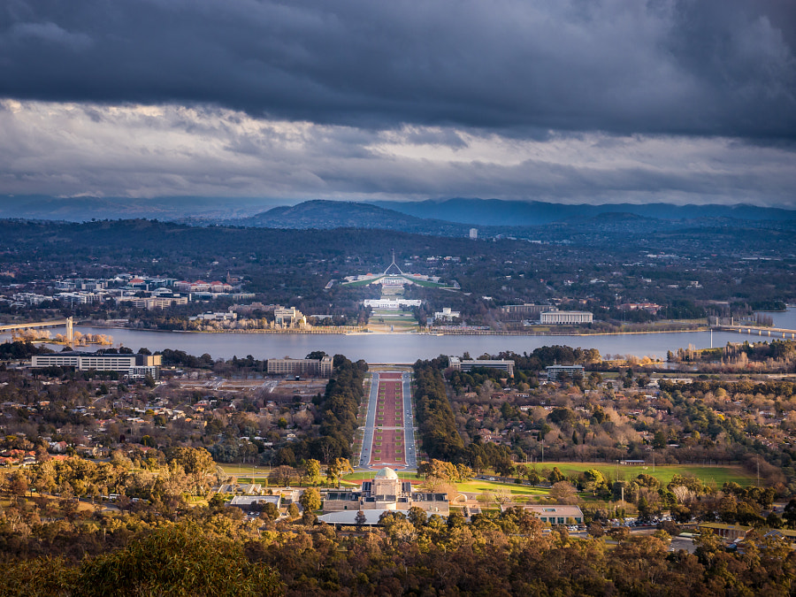 Photograph Mount Ainslie Lookout, Canberra ACT Australia by Travis Chau on 500px