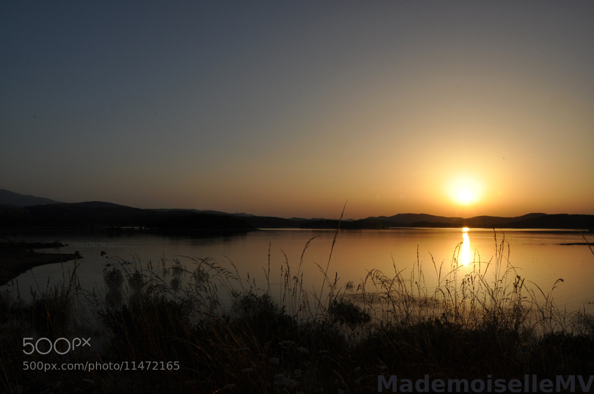 Photograph Sunset at the lake by Mademoiselle MV on 500px