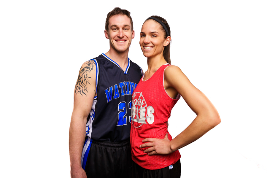 Andrew F and Lauren S Pose