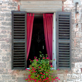 Montalcino Window by Mark Luftig (MarkLuftig)) on 500px.com