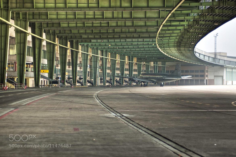 Photograph Berlin Tempelhof flight gates by Mathijs Huis on 500px