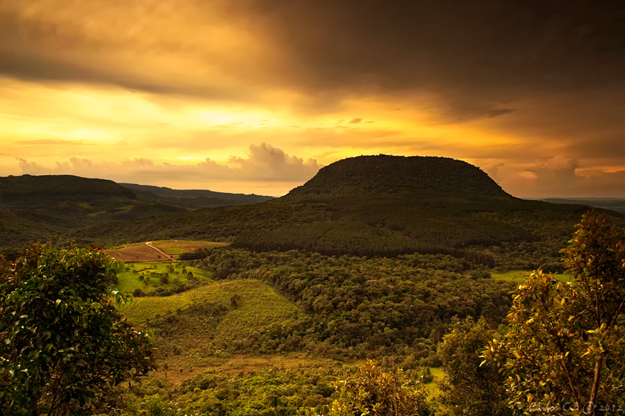 Photograph golden stormy day by Carlos CB on 500px