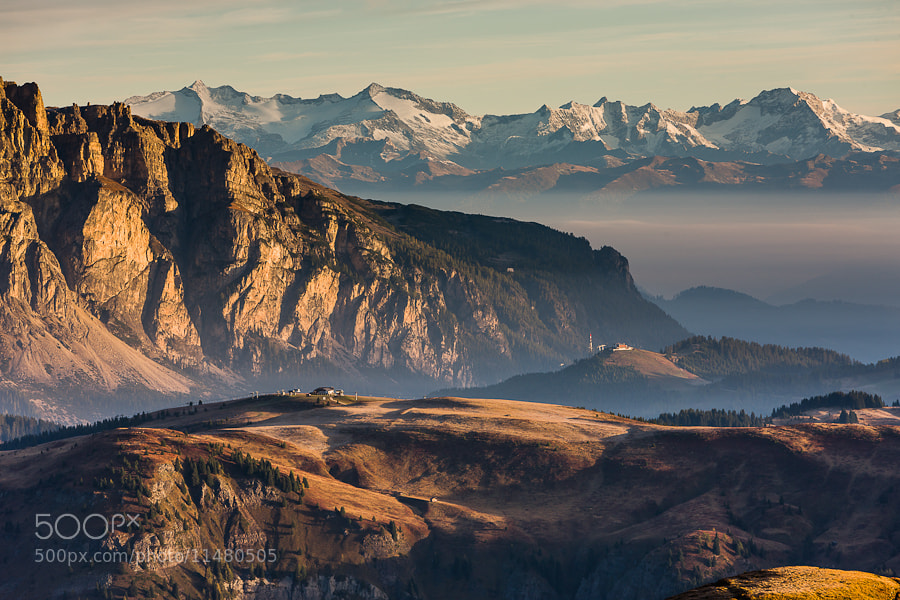 """<a href=""""http://www.hanskrusephotography.com/Workshops/Dolomites-Workshop-Oct-8-12-12/18012376_JfTs4d#!i=1663602395&k=W7J6WQB&lb=1&s=A"""">See a larger version here</a>  This photo was taken during a photo workshop in the Dolomites in October 2010."""