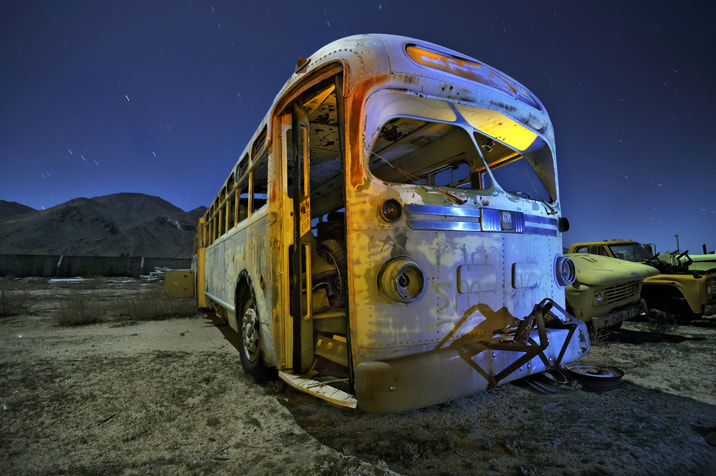 Photograph Magic Bus by Jody Miller on 500px