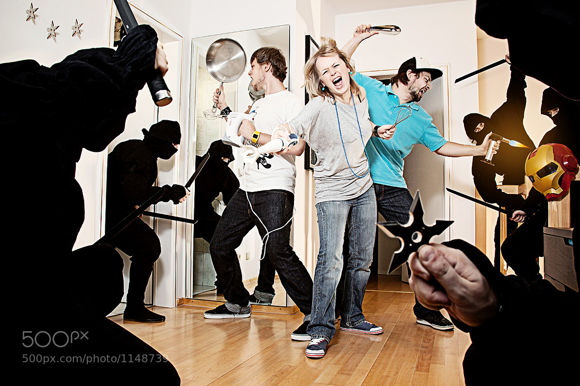 Photograph ninja invasion by Christoph Ruhland on 500px