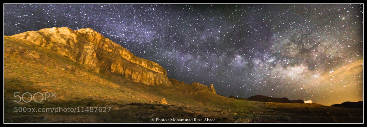 Photograph Milky way by Mohammad Reza Abaee on 500px