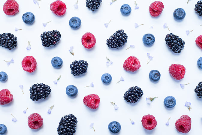 Red fruits collage by Heather Balmain on 500px