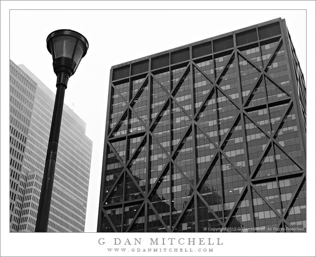 Photograph Buildings, Lamp Post by G Dan Mitchell on 500px