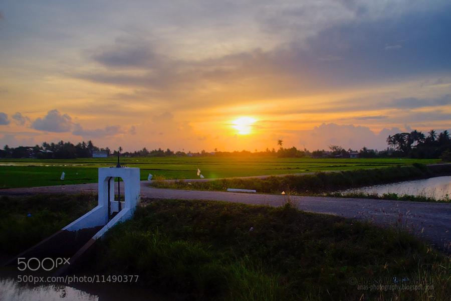 Photograph SUNSET by anassuwandi ahmad on 500px