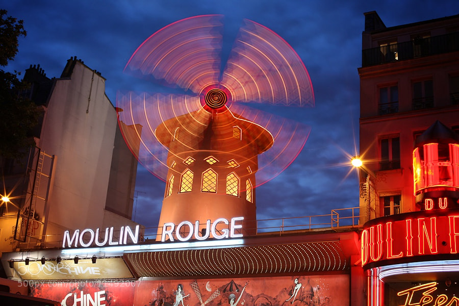 Moulin Rouge by Petrus van der Westhuizen (fotoshoota) on 500px.com
