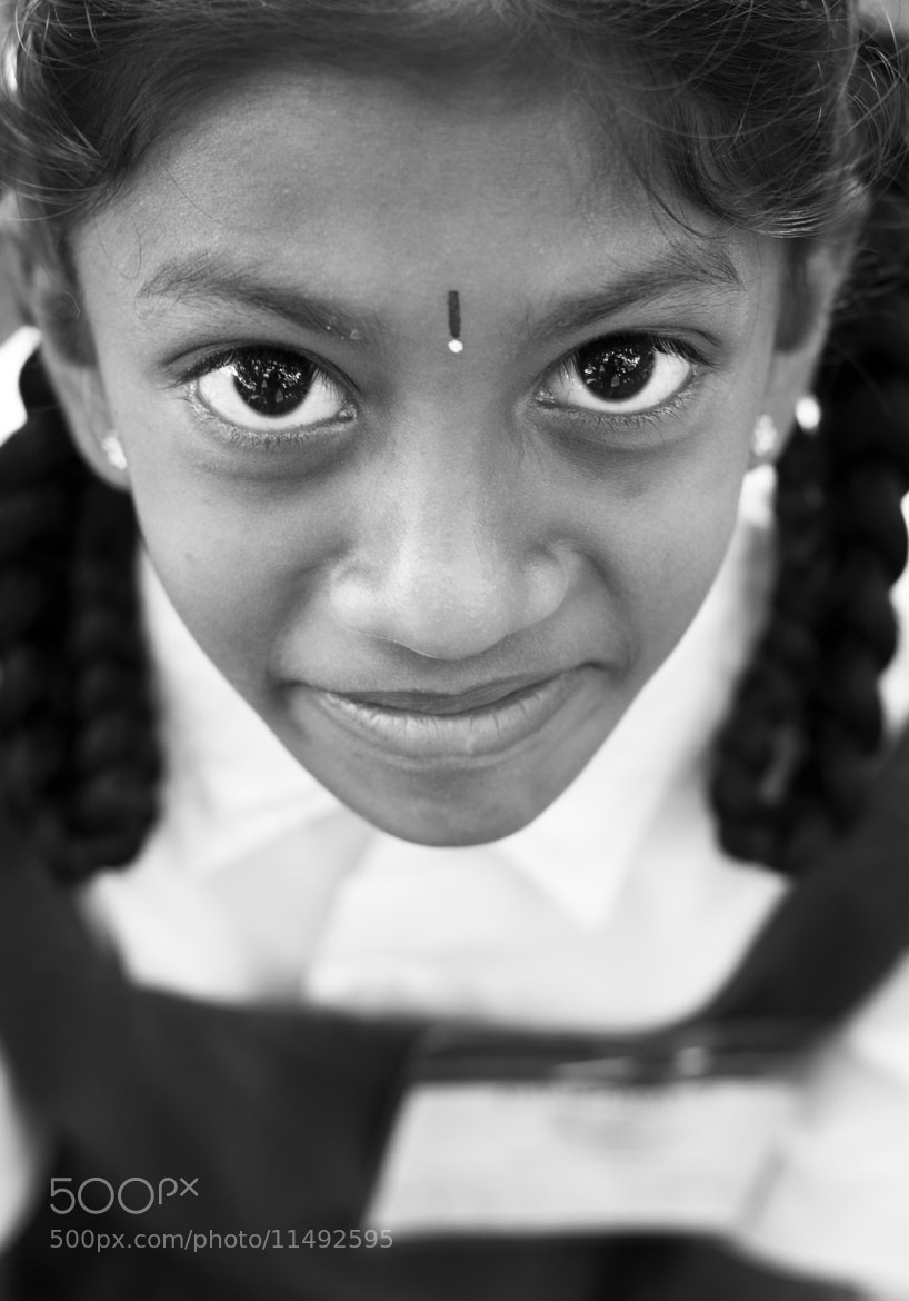 Photograph The Eyes with Hope by Baiju Abraham on 500px