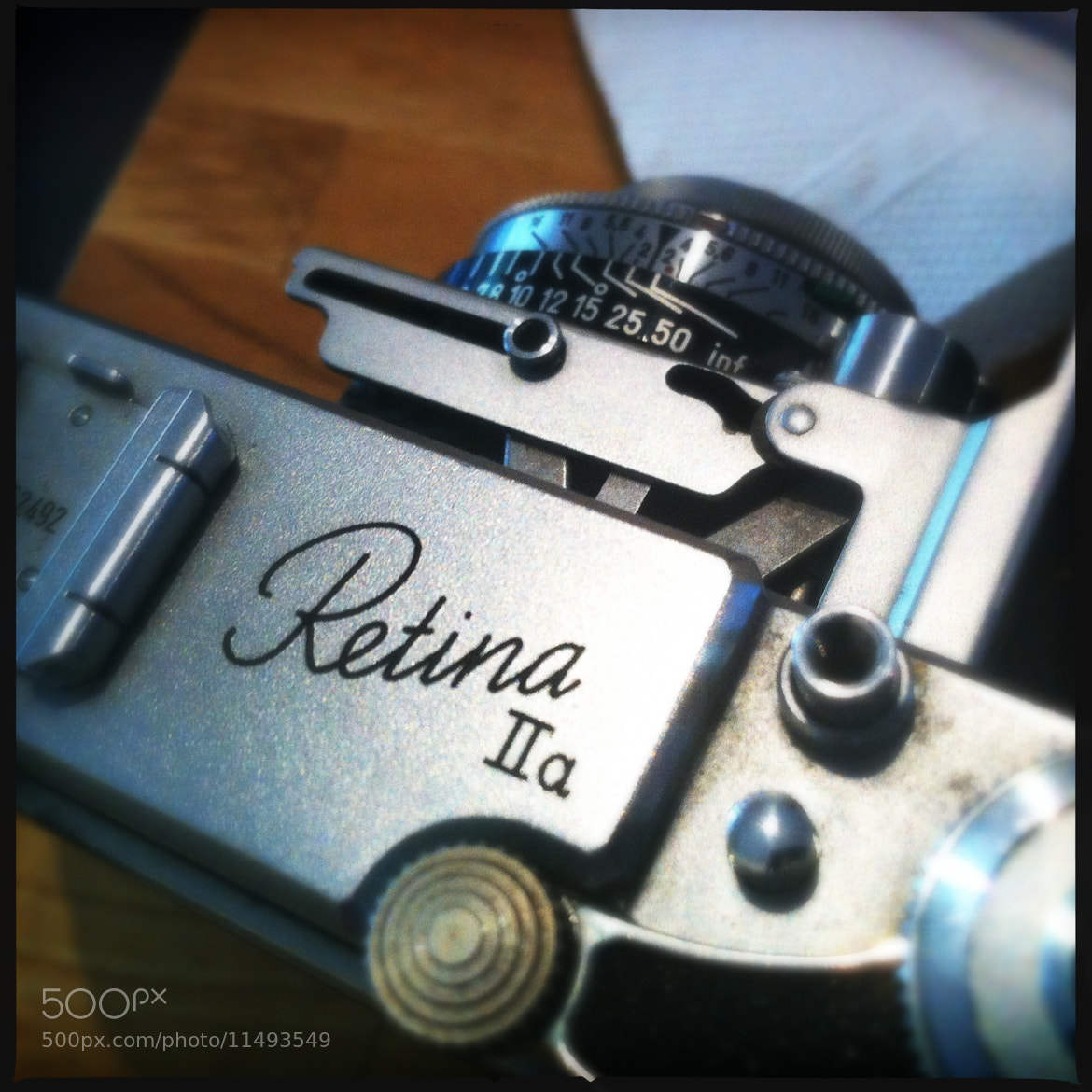 Photograph Retina IIa Camera by Chris Campbell on 500px