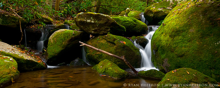 Photograph Mossy Falls III by Ryan Heffron on 500px
