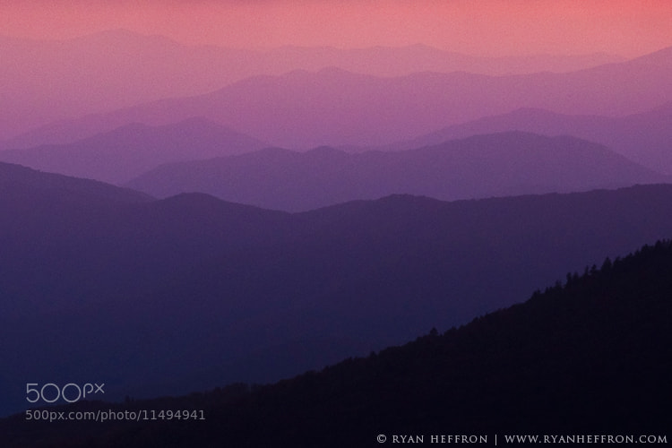 Photograph Pink in Layers by Ryan Heffron on 500px