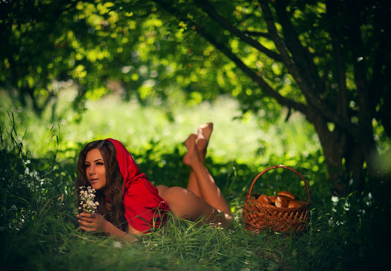 Photograph  red Riding Hood... by Tanya  Tess on 500px