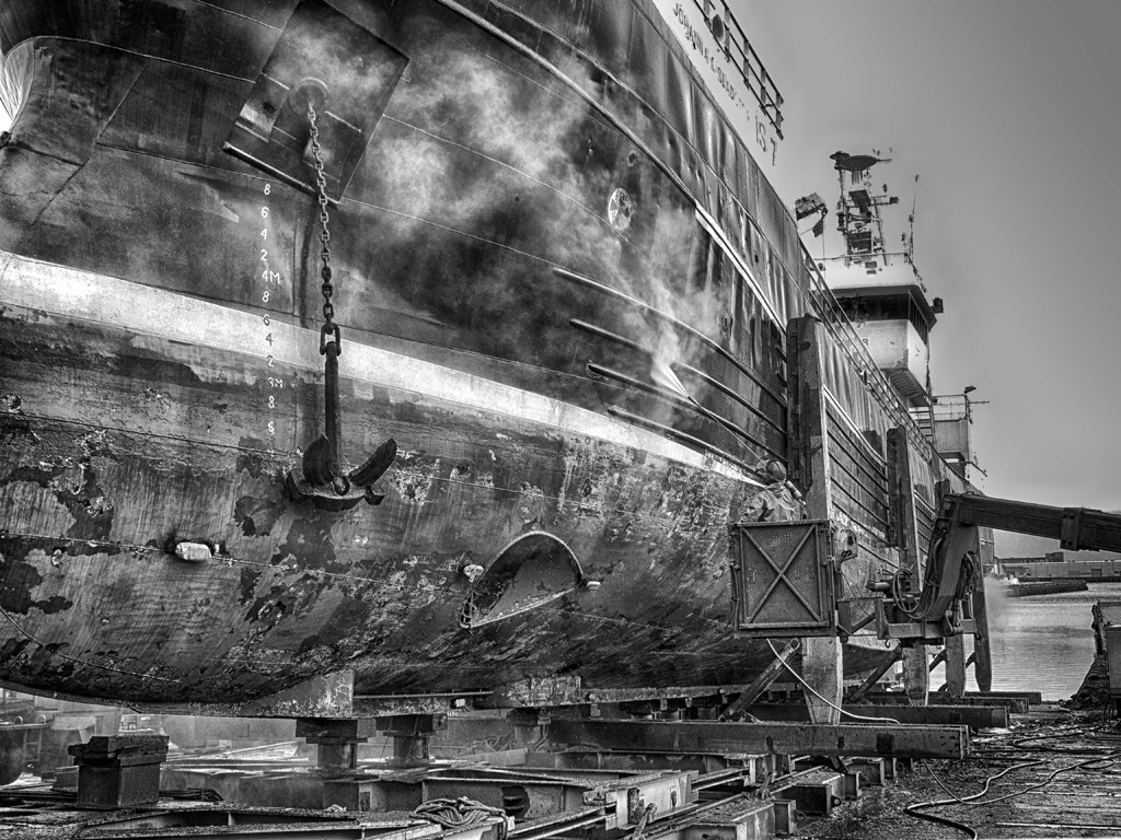 Photograph Dry Dock by Blindman shooting on 500px