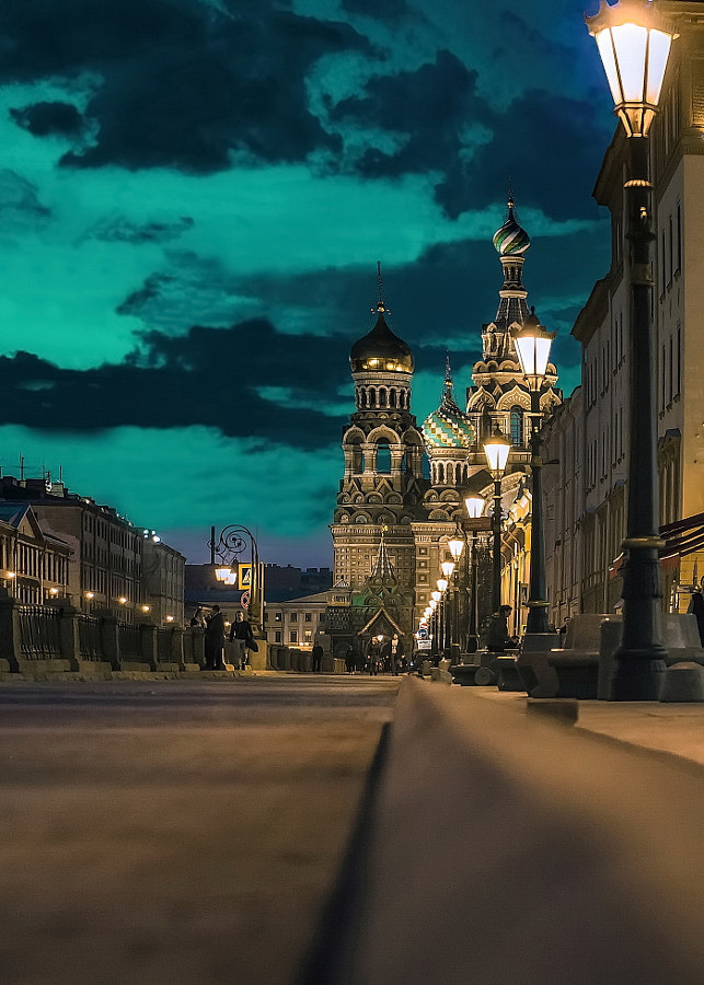 Church of the Savior on Blood. St. Petersburg by Konstantin Vodolazov on 500px.com