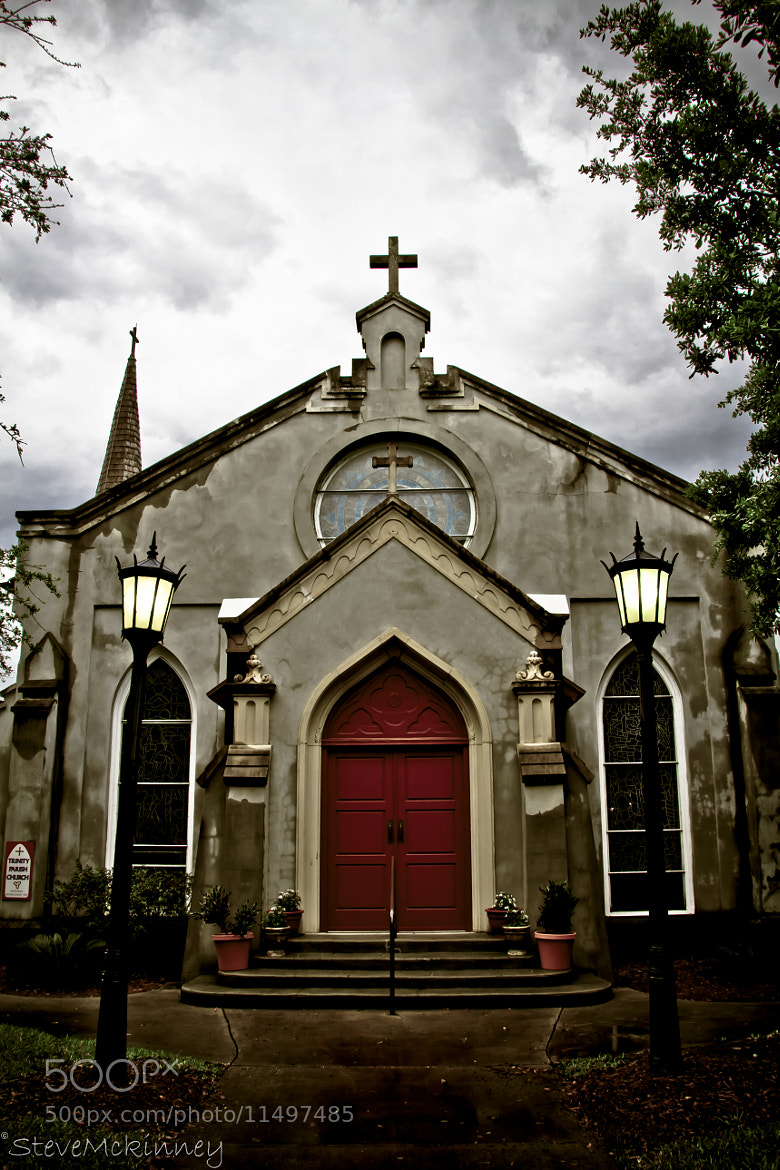 Photograph Trinity Episcopal Church, St. Augustine by Steve McKinney on 500px