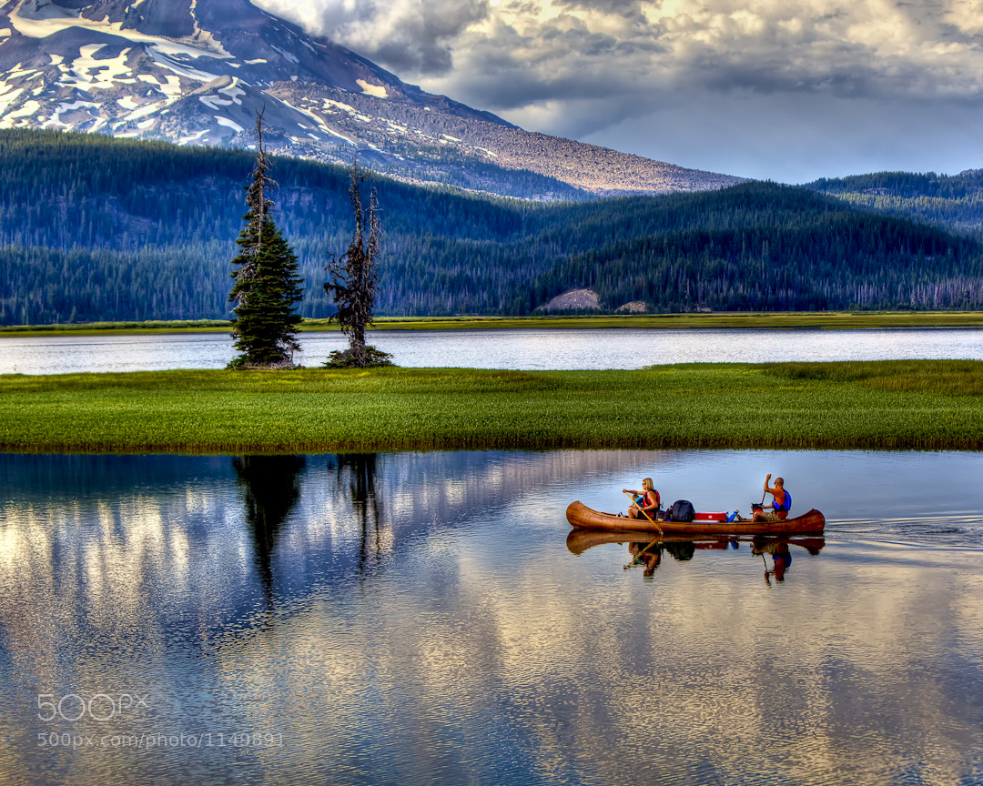 Photograph Sparks Lake Campers by Tom Reiman on 500px
