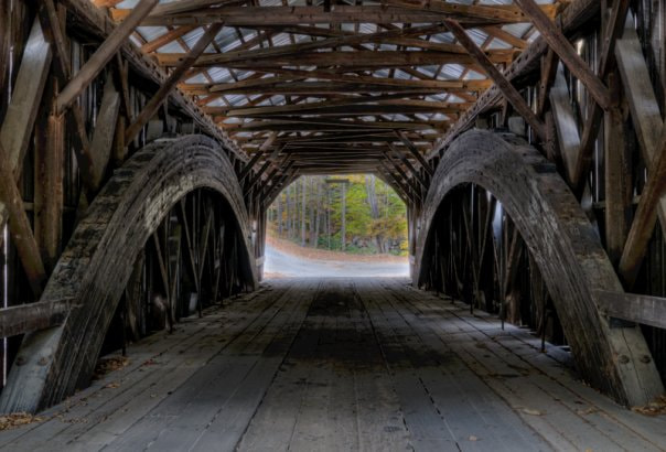 Photograph Covered Bridge by Lynne Richards on 500px