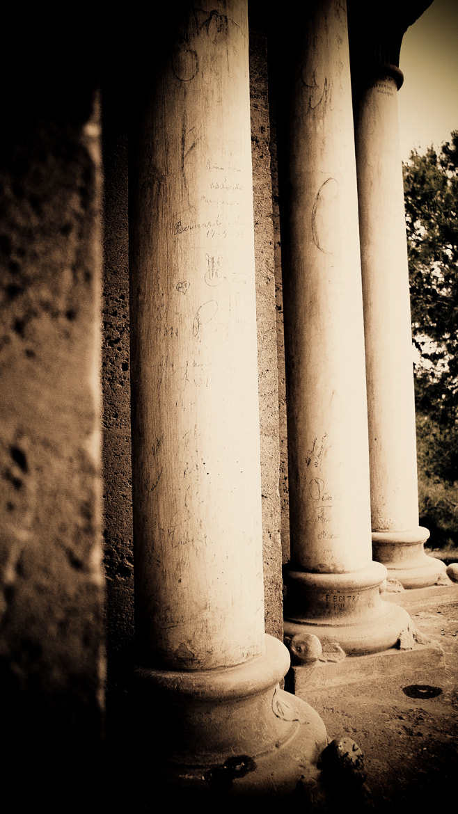 Photograph Columns by Christina Av on 500px