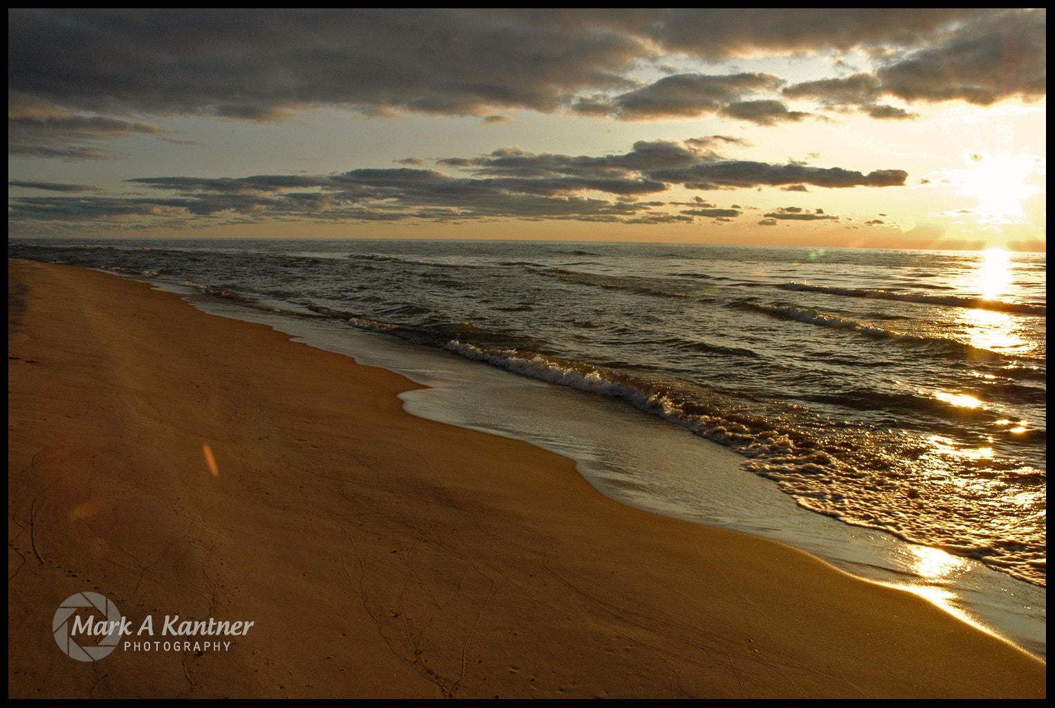 Photograph Lake Michigan Sunset by Mark Kantner on 500px