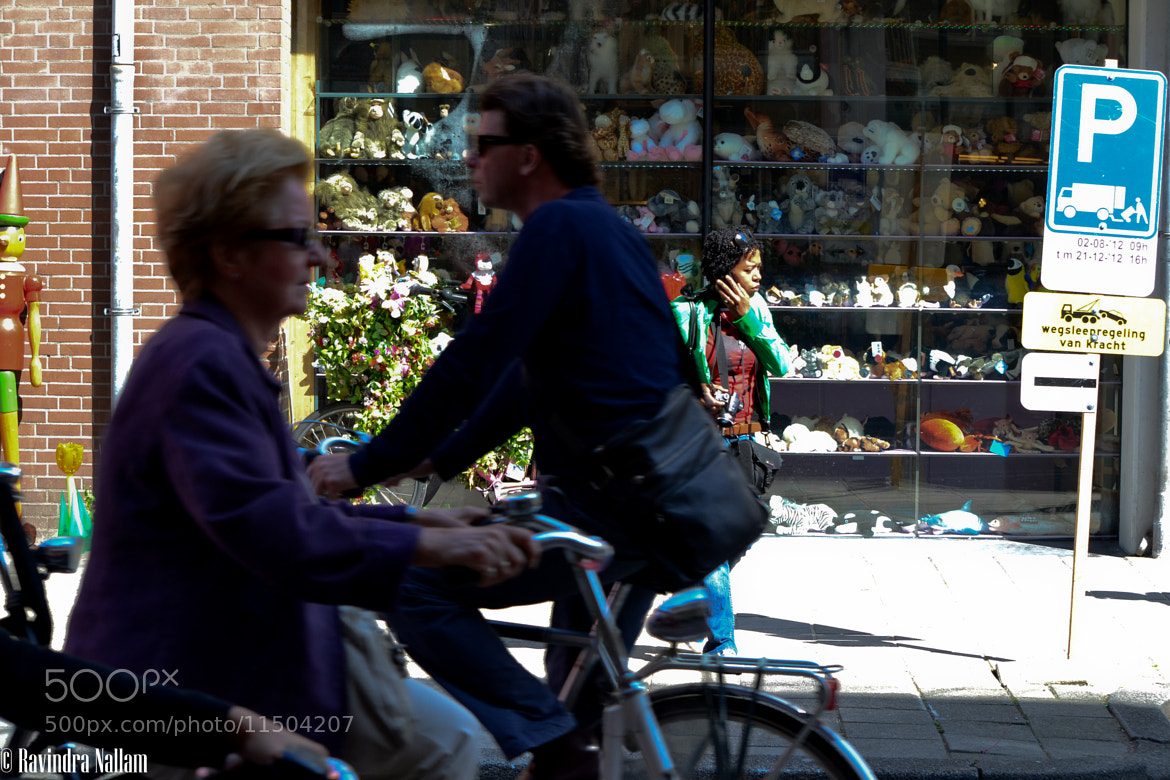 Photograph Amsterdam - Cycling Streets by Ravindra Babu on 500px