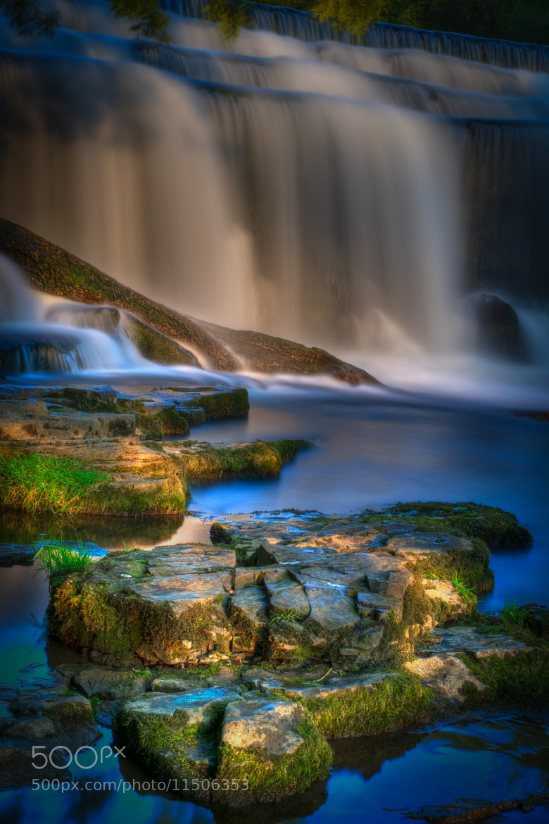 Photograph Sun, Rocks and Wier by David Guyler on 500px