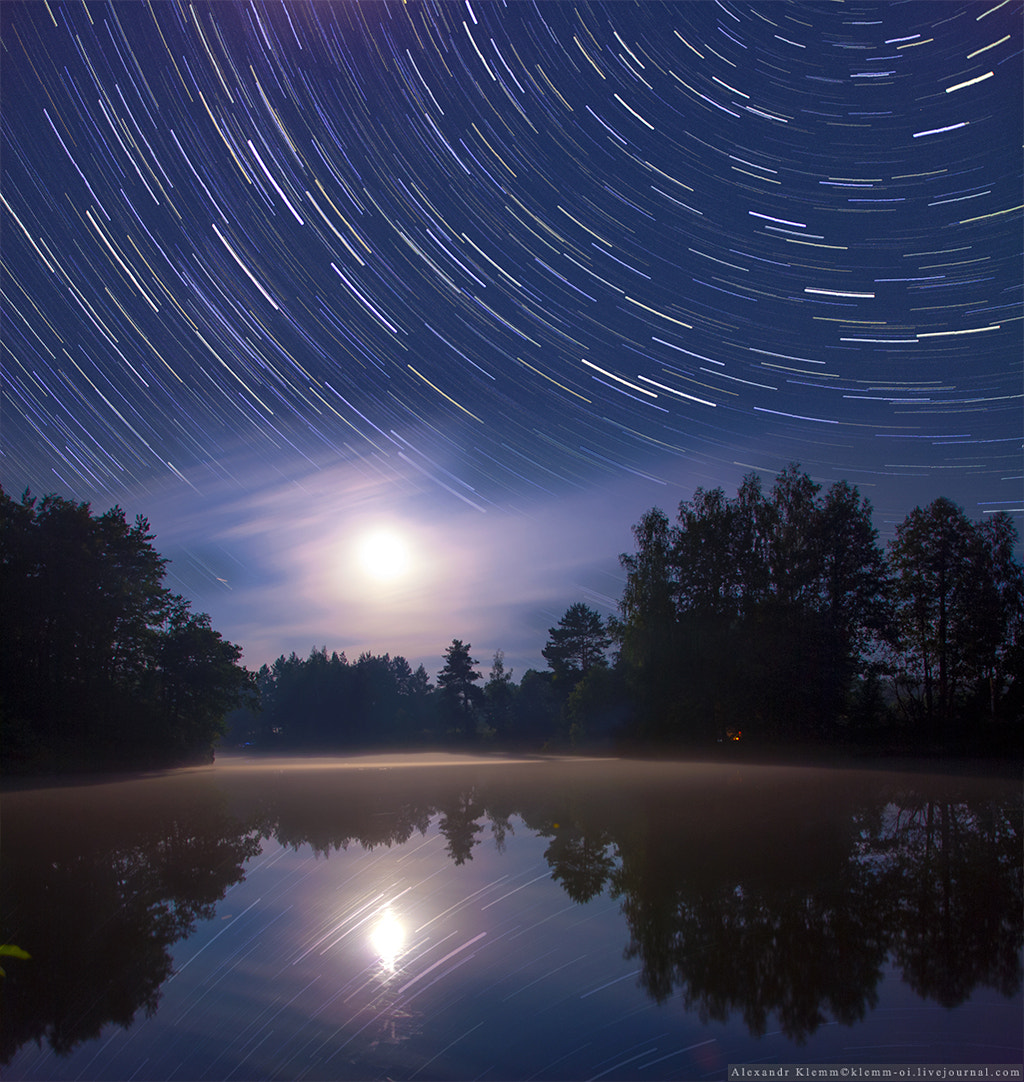 Photograph Star Trails in Ukraine by Alexandr Klemm on 500px