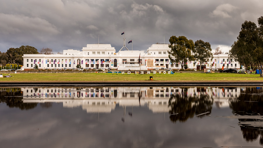 Photograph Old Parliament House by Travis Chau on 500px