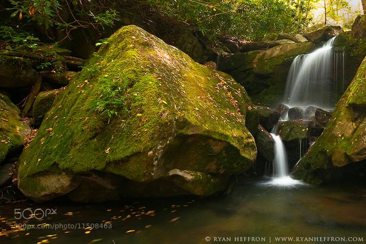 Photograph Mossy Falls by Ryan Heffron on 500px