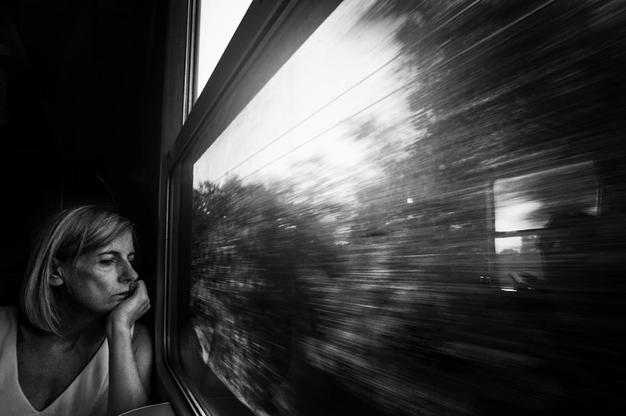 The train by Miriana Pinna on 500px.com