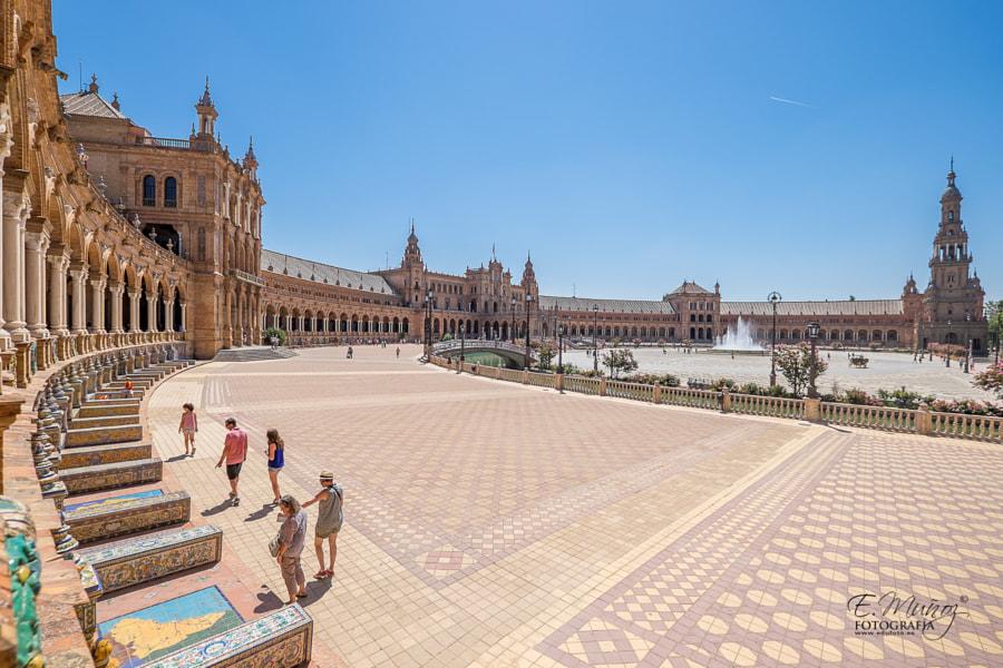 Plaza de España, SEVILLA | Seville, Spain Square de Eduardo Muñoz en 500px.com