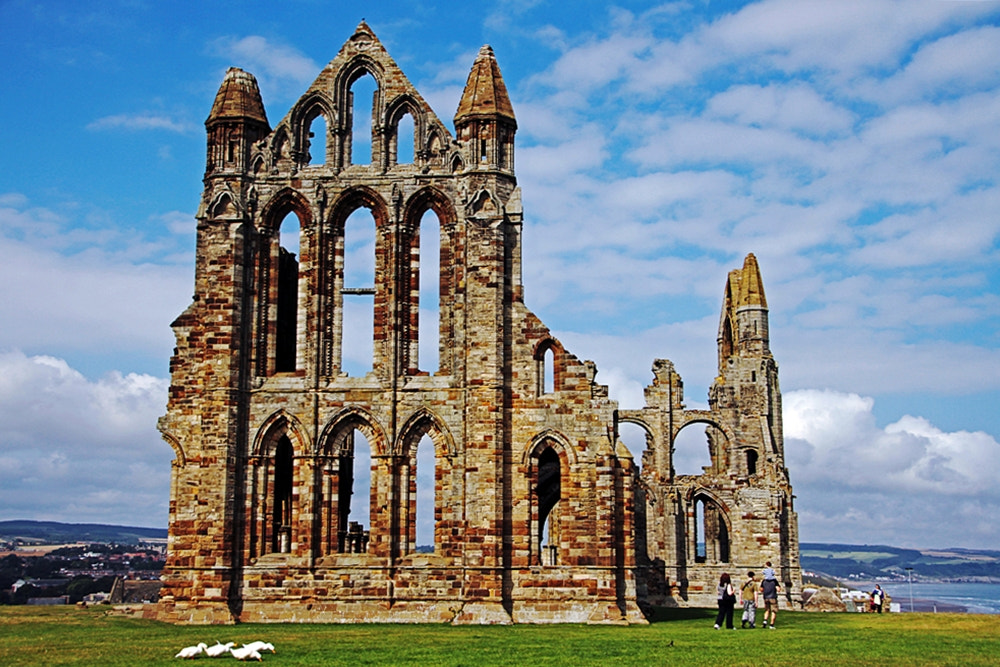 Photograph whitby abbey by Jitaek Park on 500px