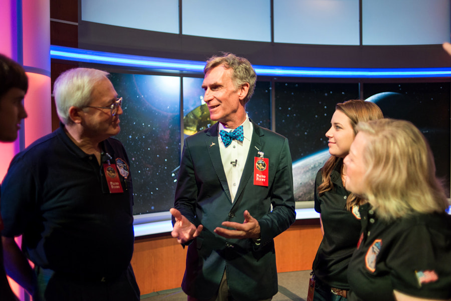 Bill Nye and the Tombaugh family by Navid Baraty on 500px.com
