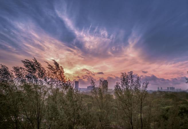 Firery Sunrise