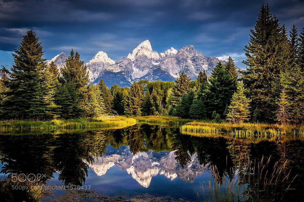 Photograph Los Grand Tetons by Brent Clark on 500px