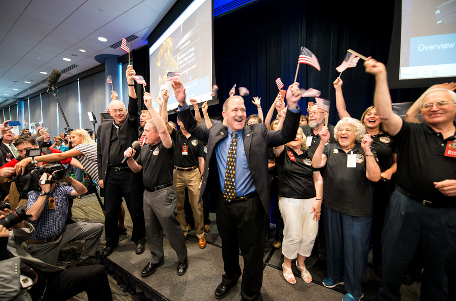 Celebration after Pluto flyby! by Navid Baraty on 500px.com