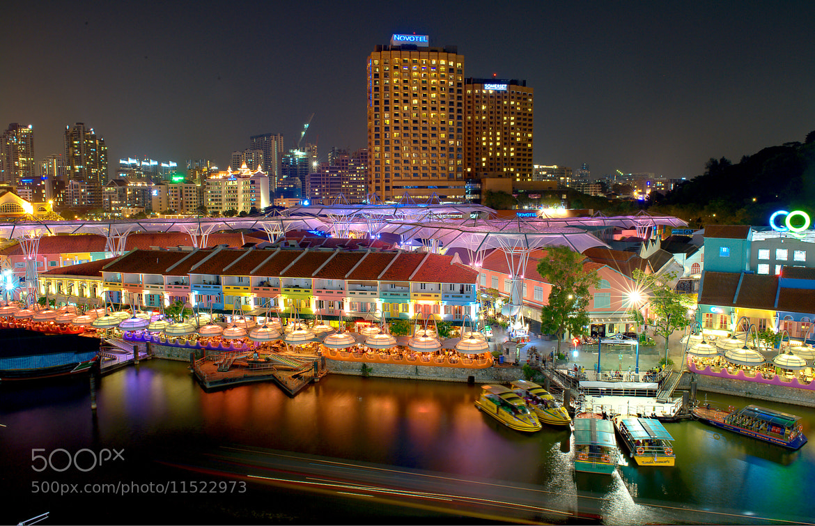 Photograph Clarke Quay by Charlie Kwan on 500px