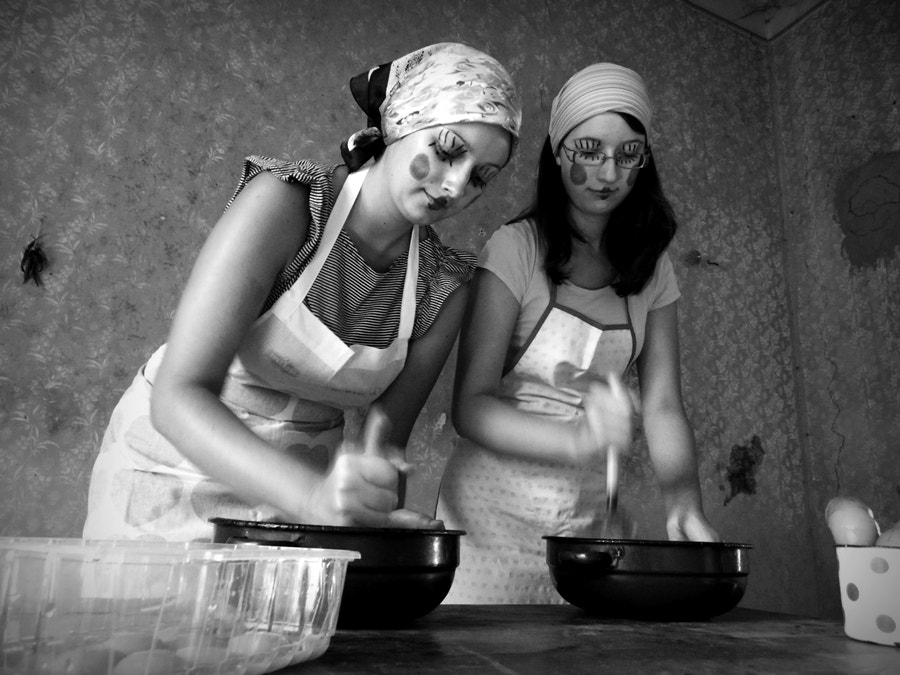 Photograph old fashioned girls by popaj * on 500px