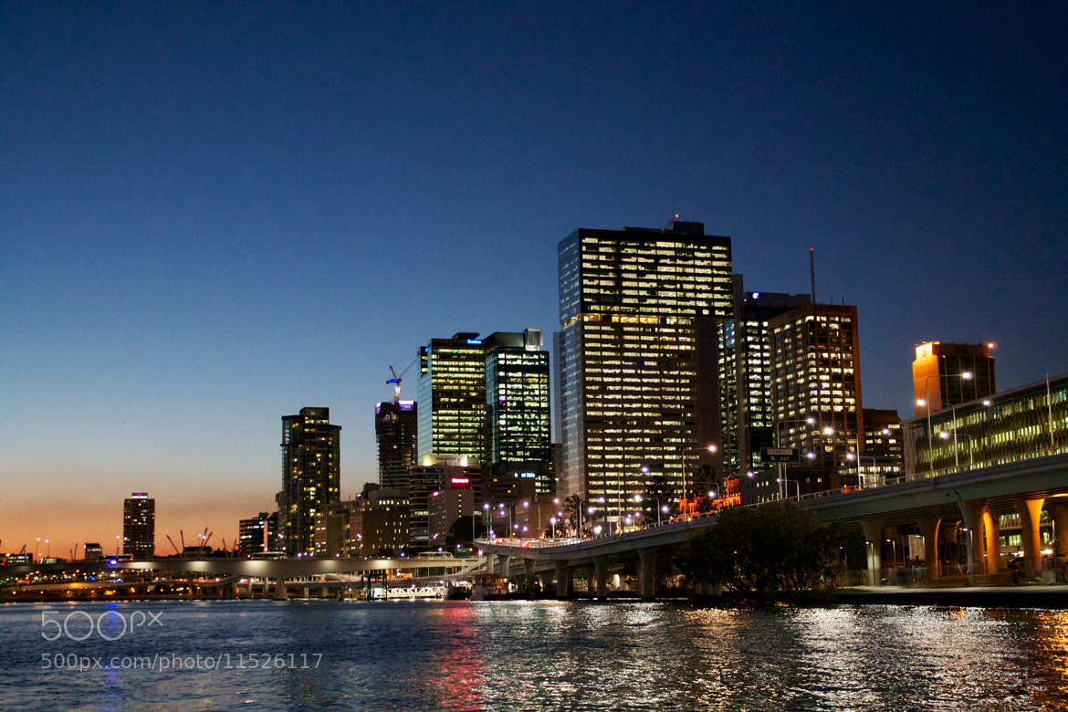 Photograph Brisbane at Dusk by Alex Hempel on 500px