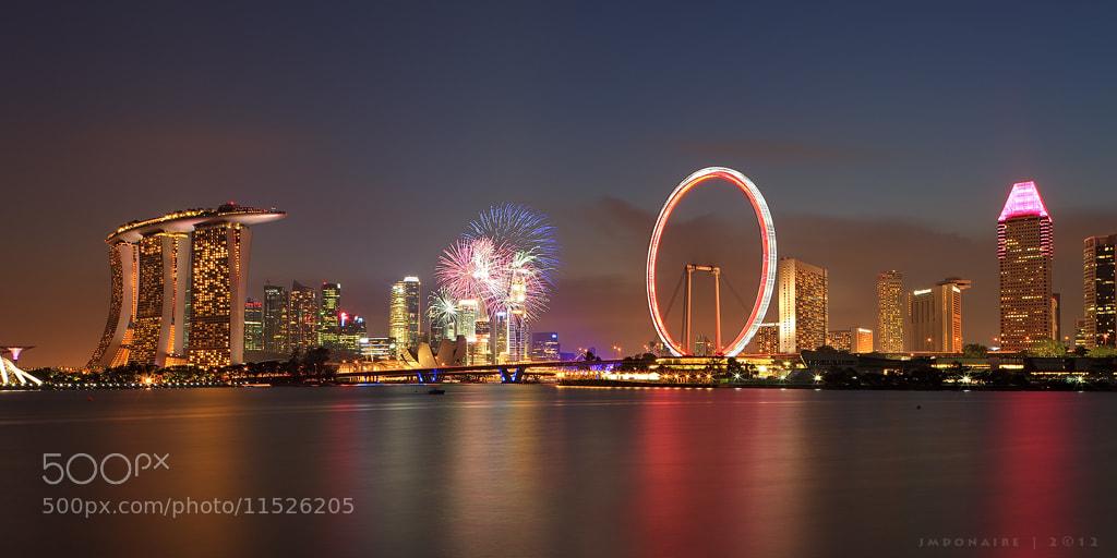 Photograph Singapore Skyline by JM Donaire on 500px