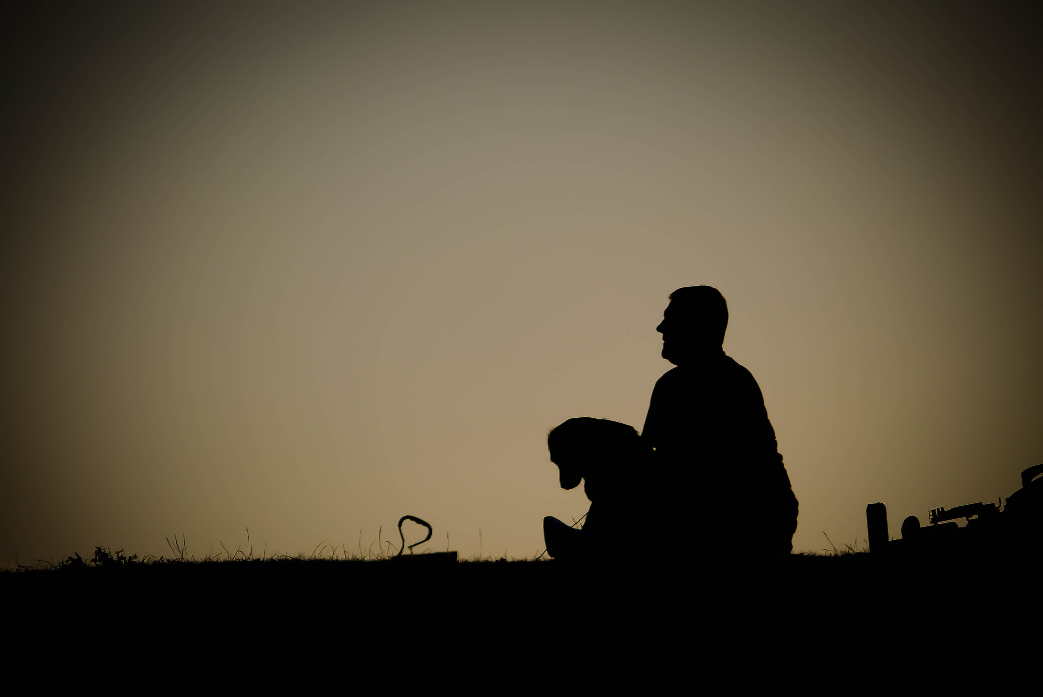 Photograph One man and his dog  by Stevie Wonder on 500px