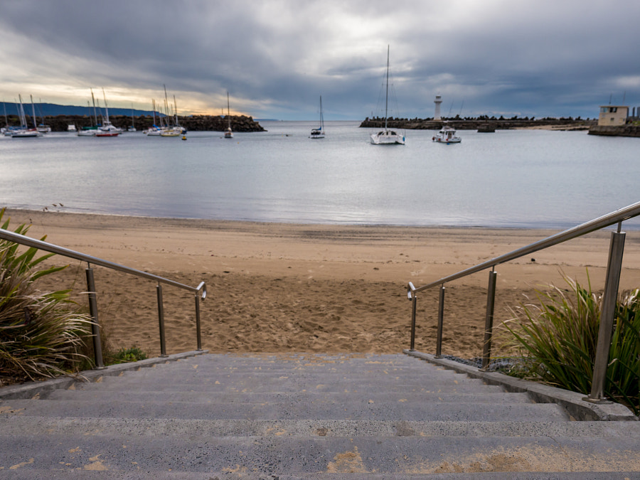 Photograph Wollongong Harbour by Travis Chau on 500px